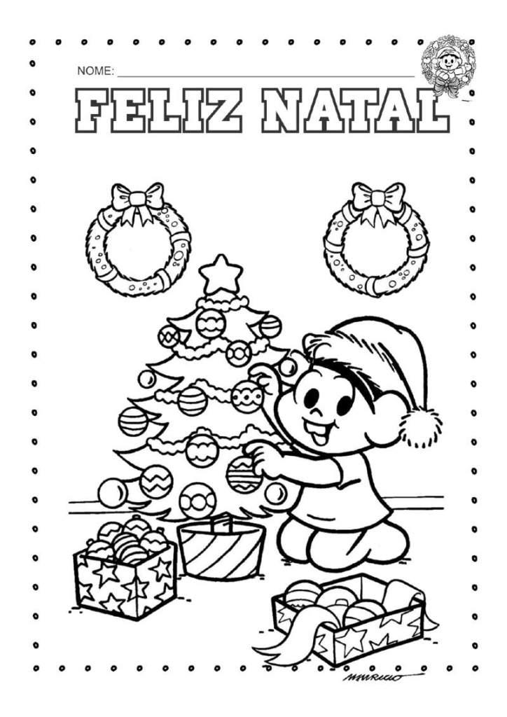 Desenhos Para Colorir Tema Natal Atividades Suzaninho