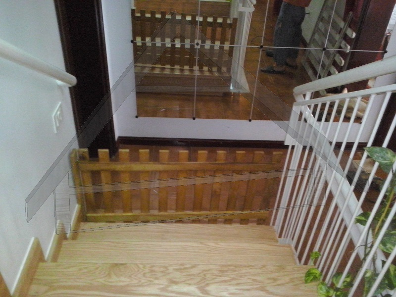 Escalera roble blanco canada - AtiWood