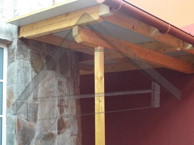 Tecto de madeira de pinho - AtWood