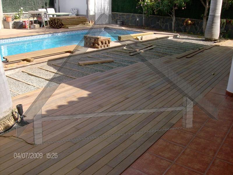 Holzplattform schwimmend - AtiWood