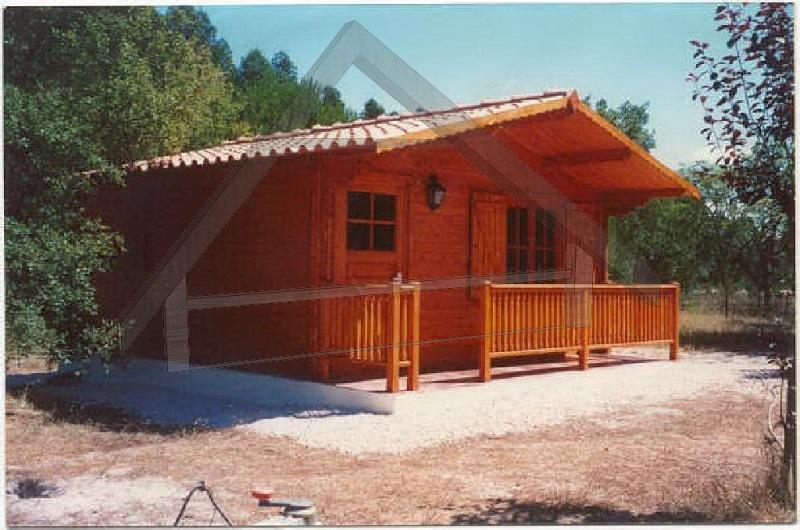casa de madera pequeña - AtiWood