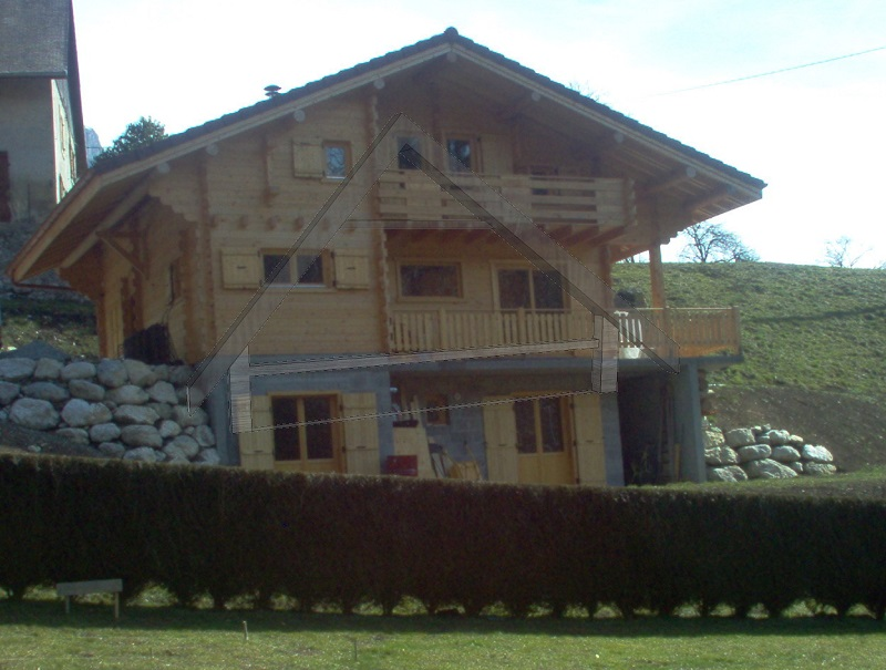 finished wooden house - AtiWood