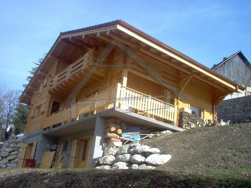 casa de madera terminado - AtiWood
