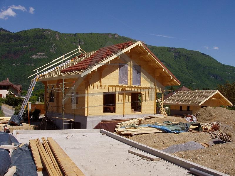 underground garage wooden house - AtiWood