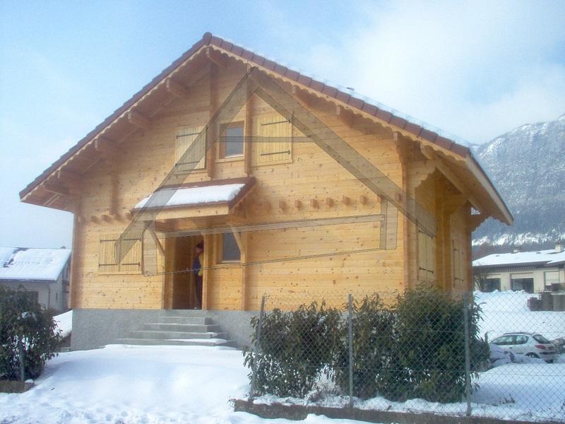garage sotterraneo casa in legno - AtiWood