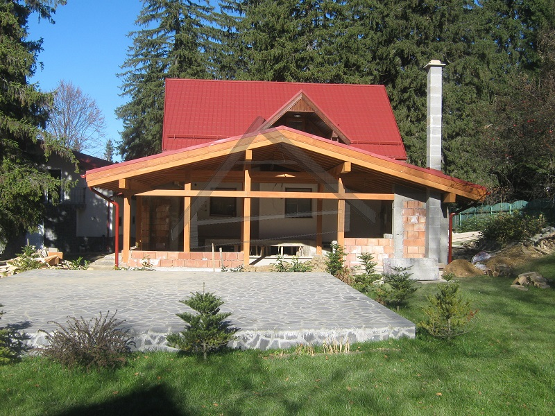 Maison en bois de montagne - AtiWood