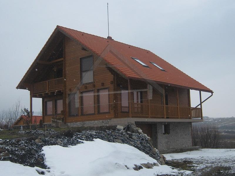 Casa de madera 140mm grueso pared - AtiWood