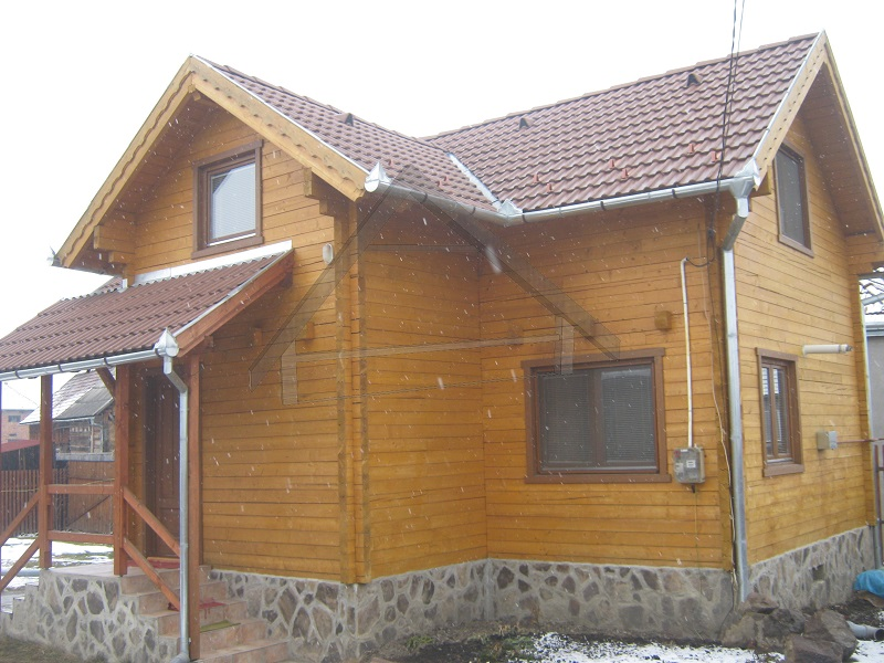 100 mm parede da casa feixe - AtiWood
