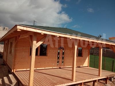 casa de madera en canarias gran canaria - AtiWood