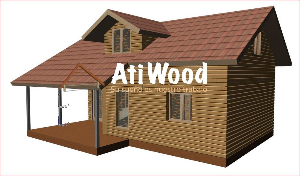Casa de Madrera prefabicada - Atiwood