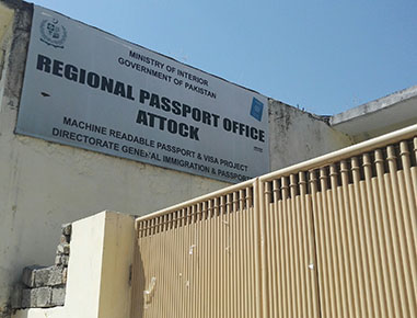 REGIONAL PASSPORT OFFICE ATTOCK