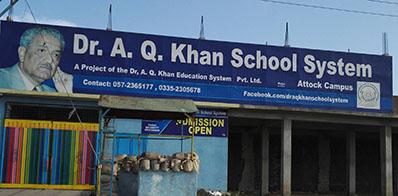 DR A Q KHAN SCHOOL SYSTEM ATTOCK