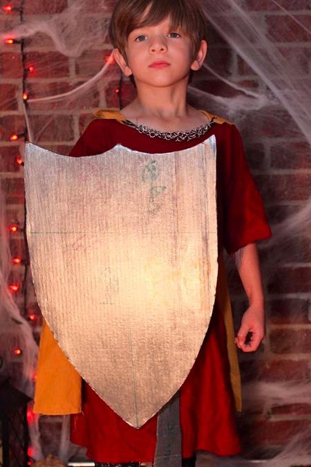 DIY King Arthur Halloween Costume