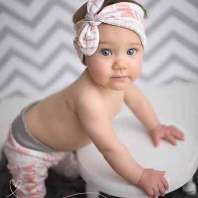 Baby Name Legging and Headband Set