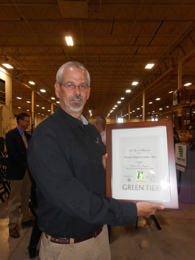 VI Green Tier Marshall Atkinson with GT Certificate