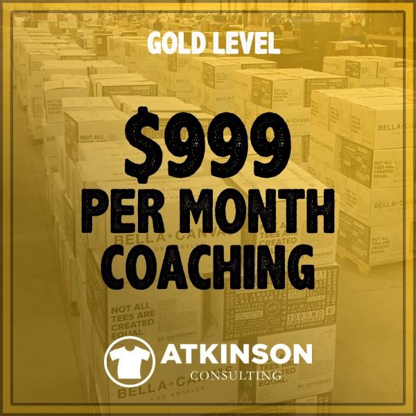 MARSHALL ATKINSON GOLD LEVEL COACHING