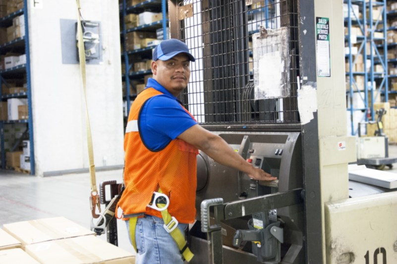 SanMar Lift Operator - Marshall Atkinson