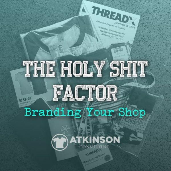 The Holy Shit Factor - Marshall Atkinson