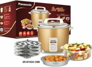 Panasonic SR WA18GH Rice Cooker & Food Steamer