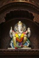 Ganesha figure at a Hindu temple