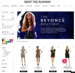 Beyonce launches boutique with rent the runway after H&M bikini campaign