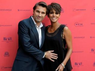 Halle Berry small private French wedding to Olivier Martinez