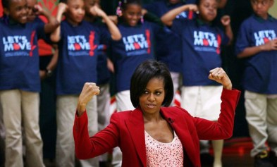 Michelle Obama teams up with Jordin sparks, Run DMC, Ariana Grande and more