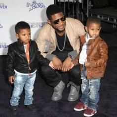 Usher and Tameka Raymond child custody battle continues