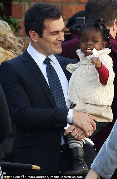 Ty Burrell and Frances