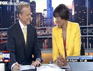 news anchor Robin Robinson says there is no santa