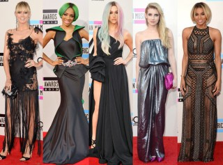 AMA 2013 best and worst dressed list