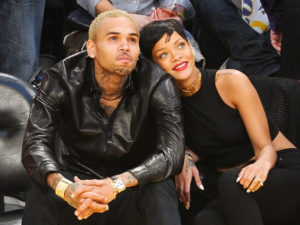 Rihanna visits Chris Brown in anger management