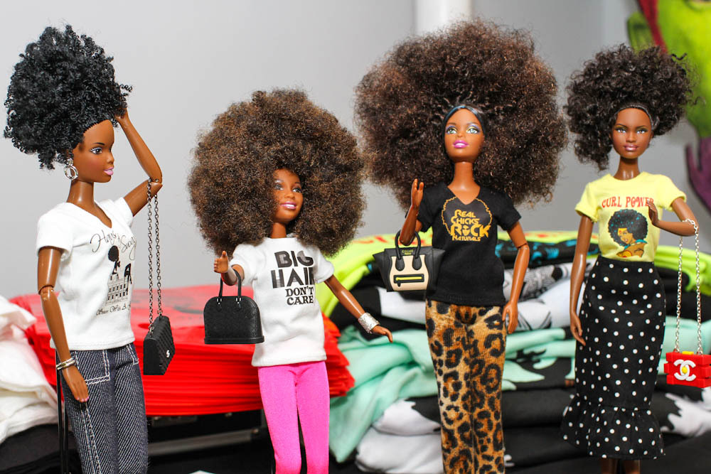 Curly Girl Collective Donates Black Natural Haired Dolls