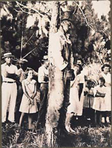 The lynching of Rubin Stacy. Onlookers, including four young girls.  July 19, 1935, Fort Lauderdale, Florida.