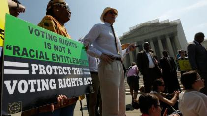 bipartisan lawmakers amendment to Voting Rights Act