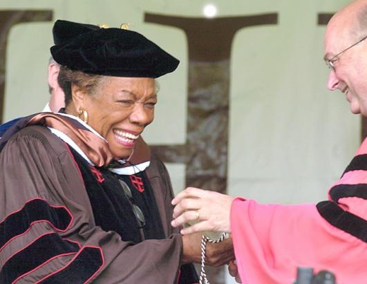 maya angelou honorary degree