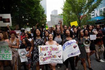 Atlanta March in honor of Michael Brown