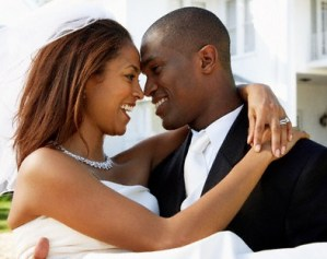 Black couples getting married