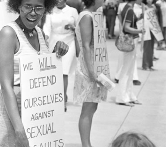 Image result for black women protesting against sexual violence