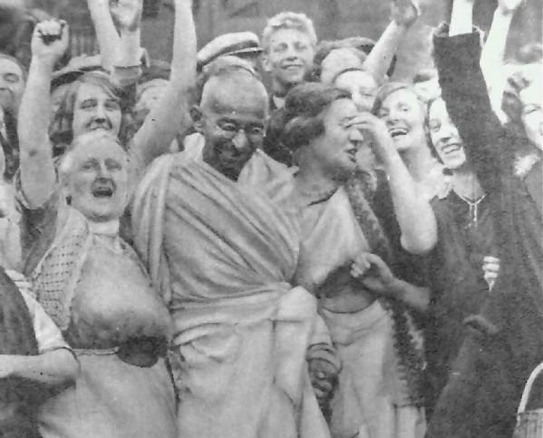 Gandhi in UK