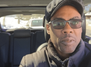 Chris Rock takes selfie on Instagram after being pulled over by police