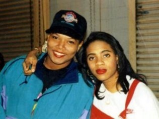 Rappers Queen Latifah and MC Lyte
