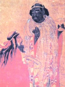 A PROMINENT BLACK MAN IN THE YUAN PERIOD IN CHINA.  PHOTO BY RUNOKO RASHIDI