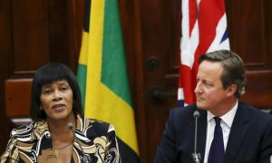 Jamaican prime minister Portia Simpson Miller raises the issue of slavery reparations with David Cameron. The Guardian.
