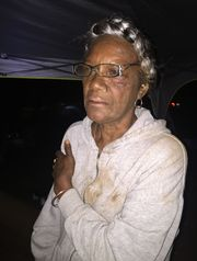 Melvina Allen was injured when she tripped and fell while trying to escape threatened violence. (Photo: Kanisha Allen)