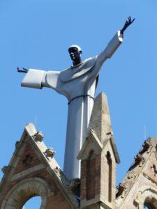St. Benedict the Moor atop the Saint Benedict the Moor Church in Pittsburgh, PA.  Photo by Runoko Rashidi - Copy