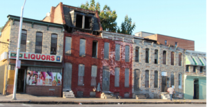 Biddle St. and N Chester St., East Baltimore. Photo: Robyn Dorsey