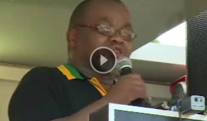 African National Congress secretary general Gwede Mantashe