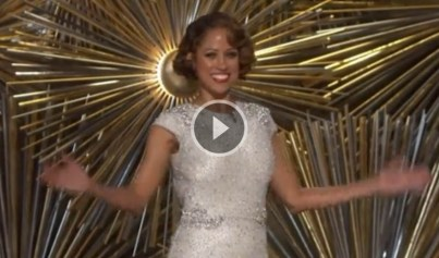 Stacey Dash awkward Black History Joke At 88th Annual Academy Awards