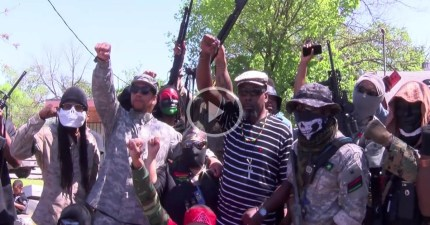 New Black Panthers in armed showdown with anti-Muslim militia in Texas